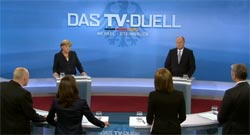 TV-Duell am 13. September 2013